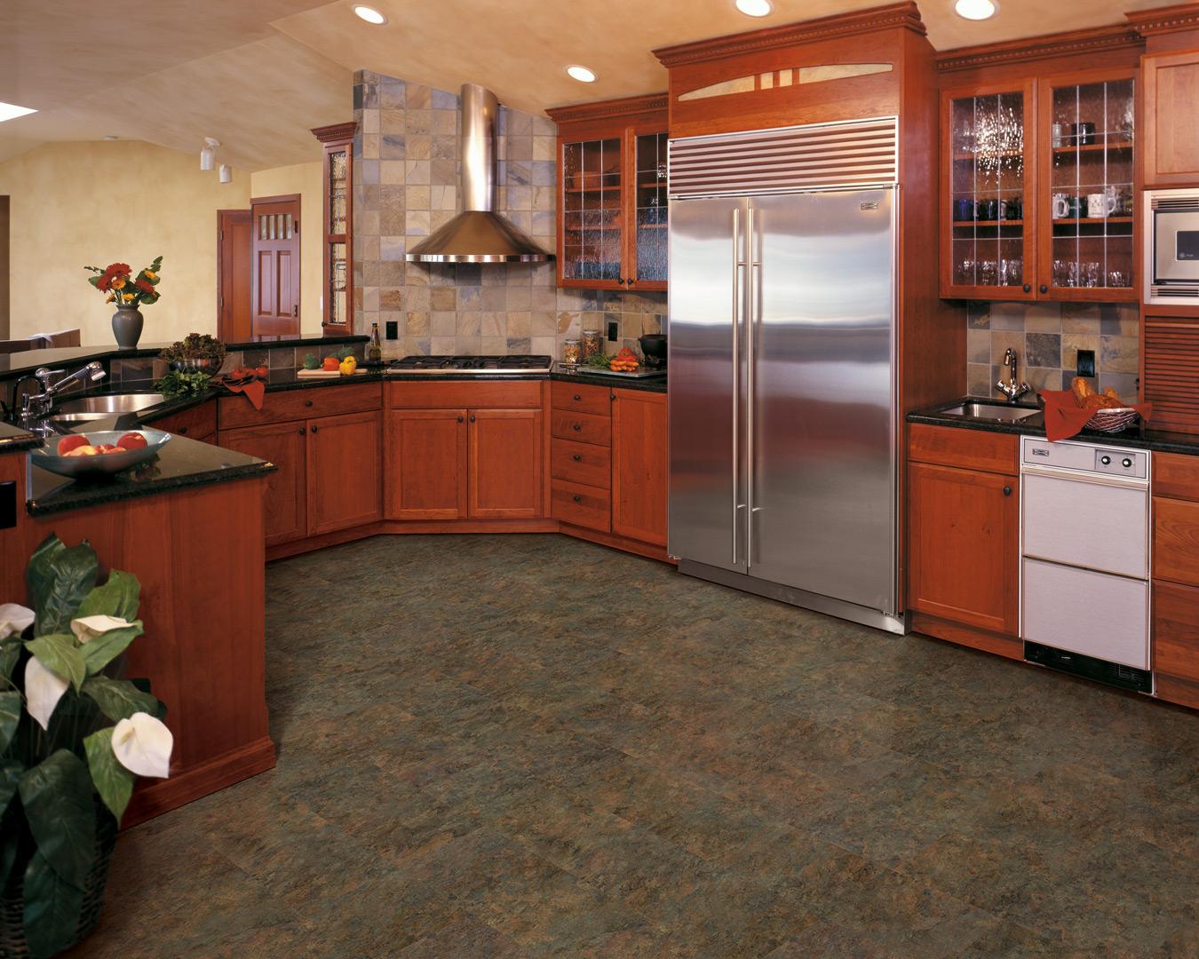 How To Install Vinyl Plank Flooring Around Kitchen Cabinets